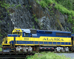 Alaska Railroad - Anchorage to Whittier