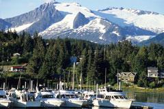Yachts in Auke Bay, Juneau Alaska
