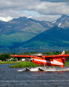 Float Plane - Lake Hood, Alaska