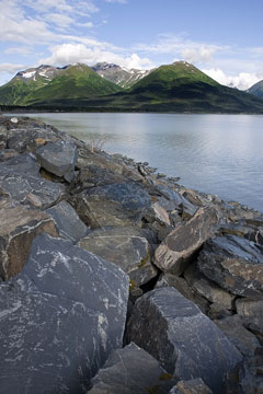 Turnagain Arm near Anchorage, Alaska